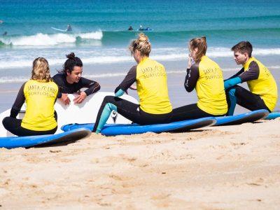 lezione surf spiaggia portogallo
