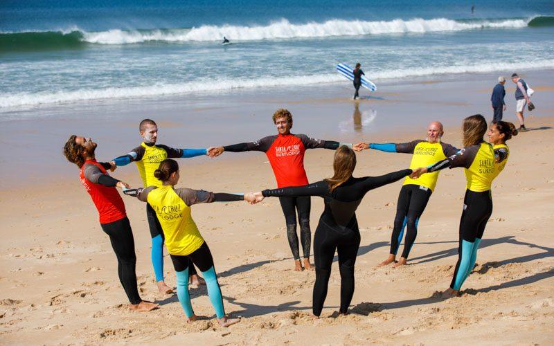 relax stretching surf scuola portogallo