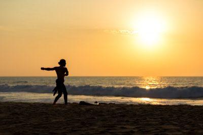 stretching surf corso portogallo