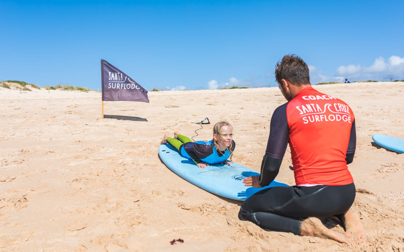 corsi surf bambini ragazzi portogallo